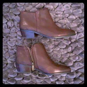 Sam Edelman chocolate brown booties size 7.5